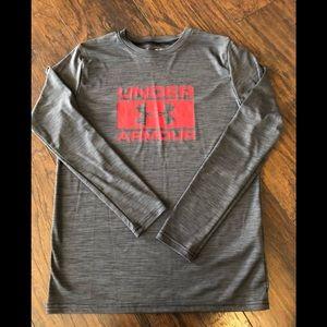 Boy's Under Armour Long Sleeve T-Shirt